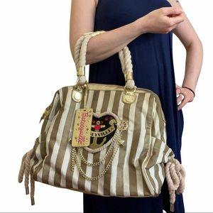 Betsey Johnson Betseyville Nautical Striped Bag